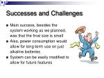 successes and challenges21