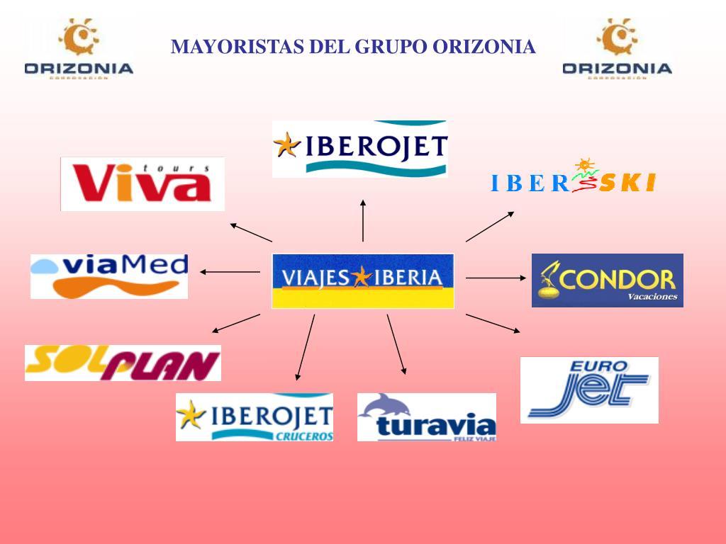 MAYORISTAS DEL GRUPO ORIZONIA