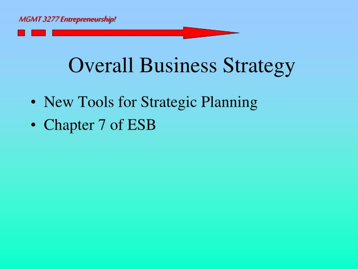 Overall business strategy l.jpg