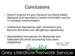 conclusions31