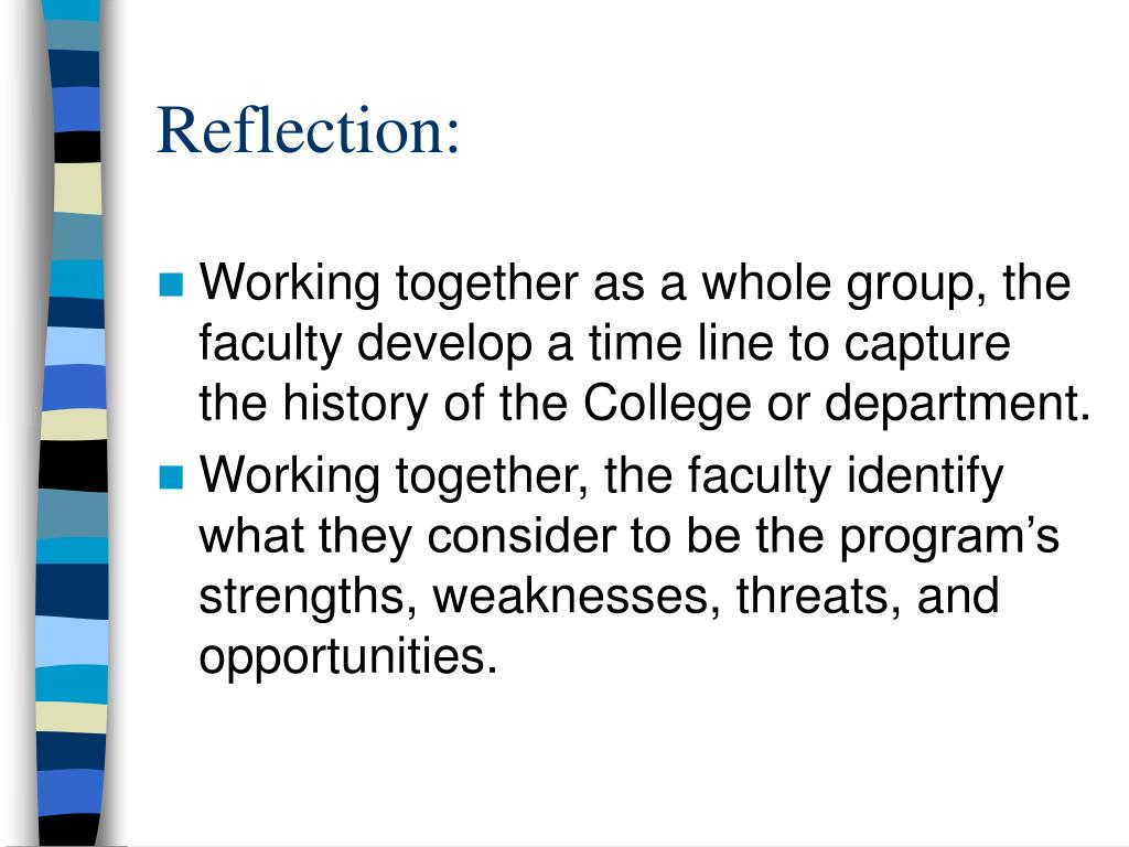 Reflection: