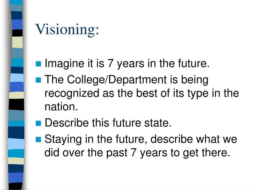 Visioning: