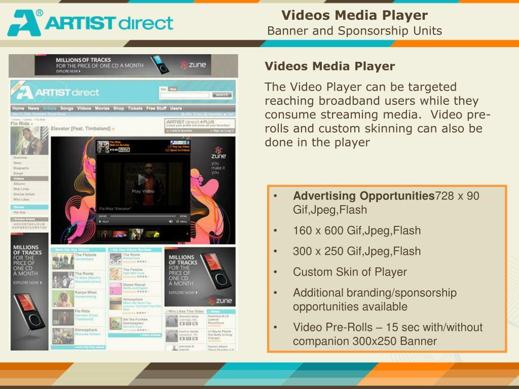 Videos Media Player