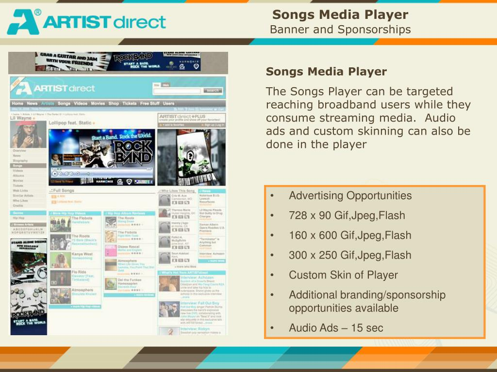 Songs Media Player