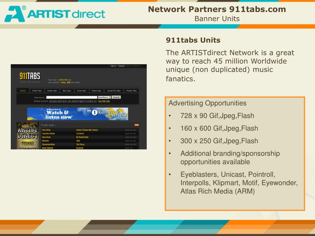 Network Partners 911tabs.com