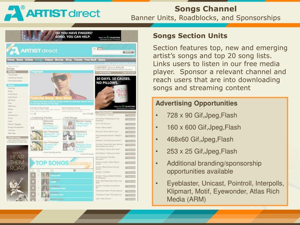 Songs Channel