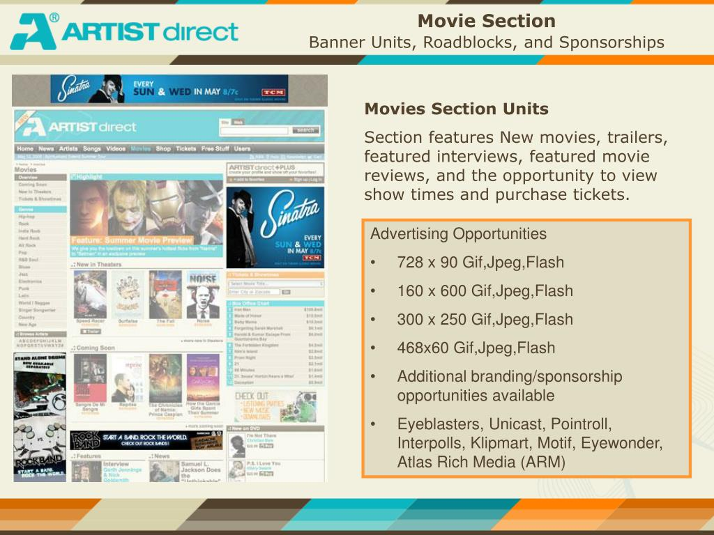Movie Section