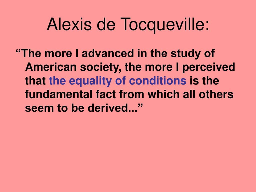 Alexis de Tocqueville: