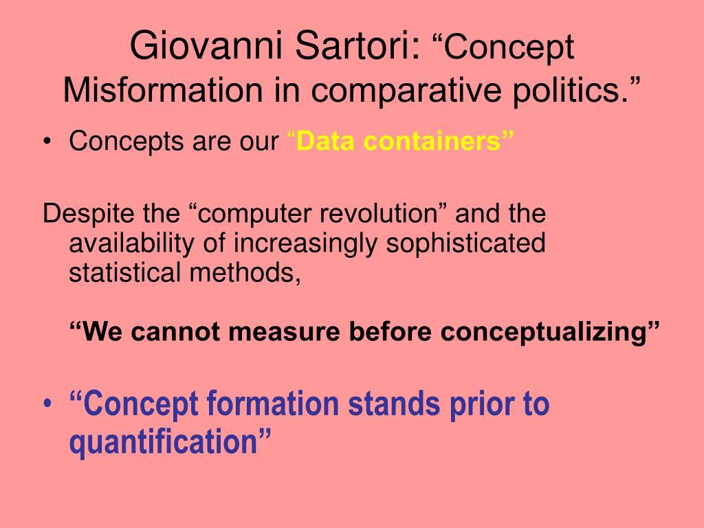 Giovanni Sartori: