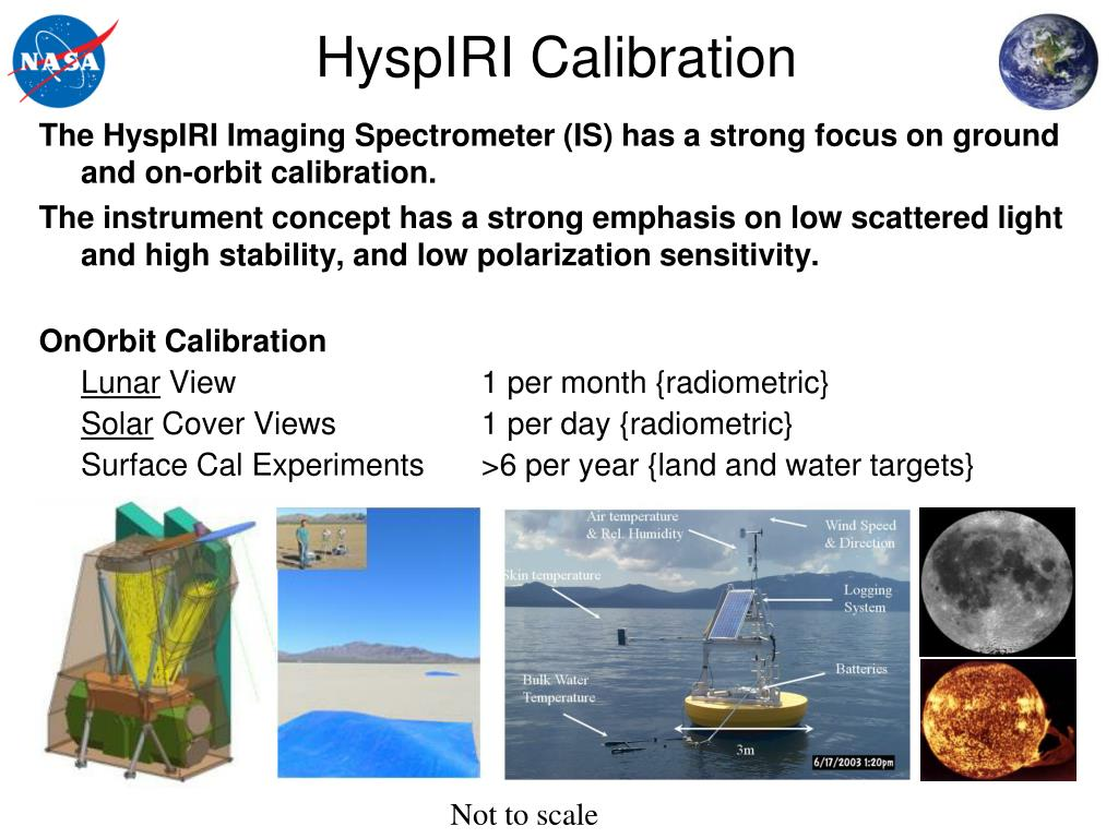 HyspIRI Calibration