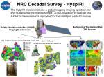 nrc decadal survey hyspiri