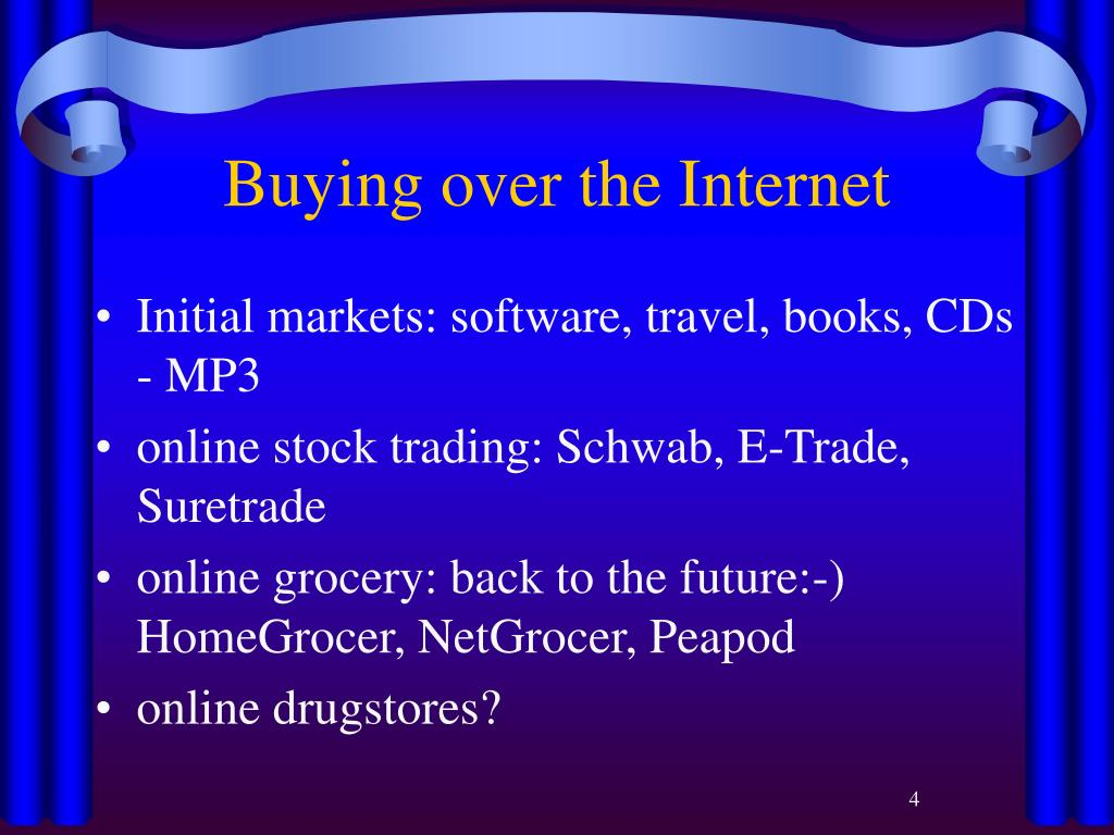 Buying over the Internet