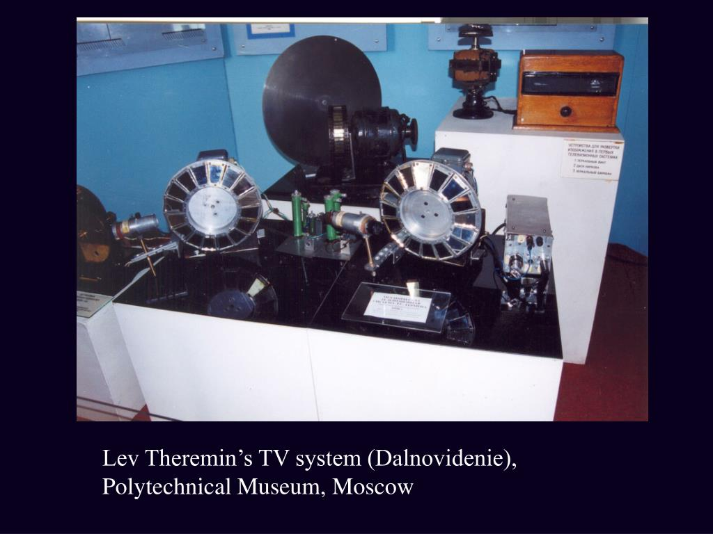 Lev Theremin's TV system (Dalnovidenie), Polytechnical Museum, Moscow
