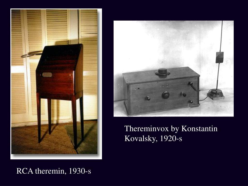 Thereminvox by Konstantin Kovalsky, 1920-s