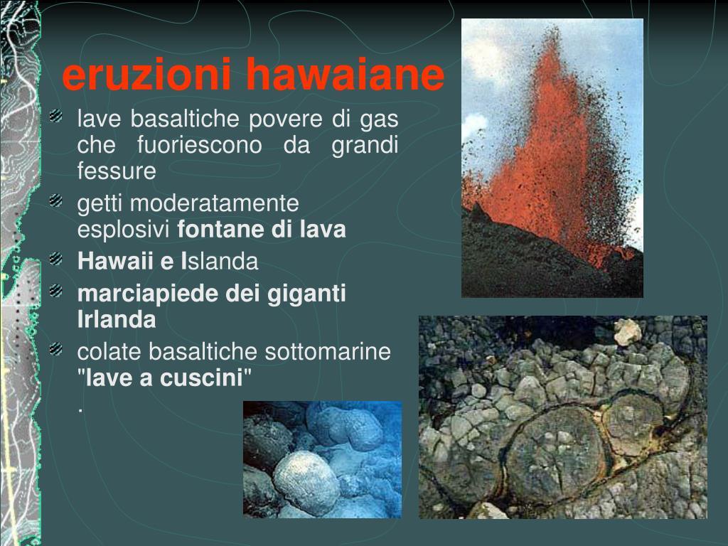 eruzioni hawaiane
