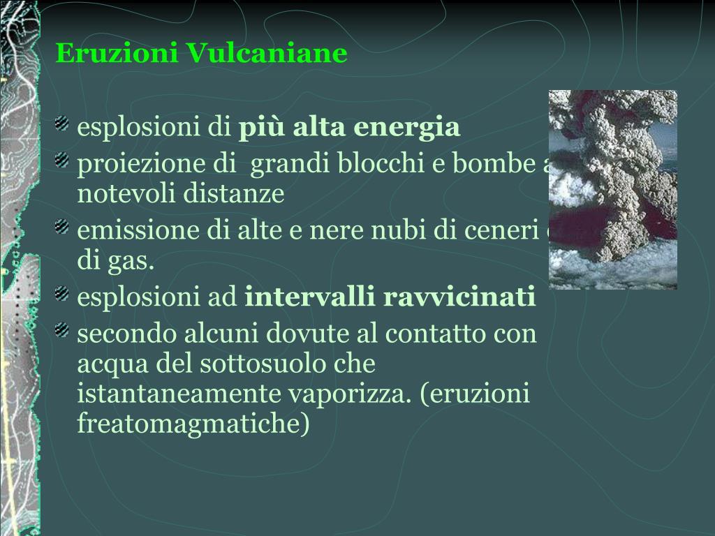 Eruzioni Vulcaniane