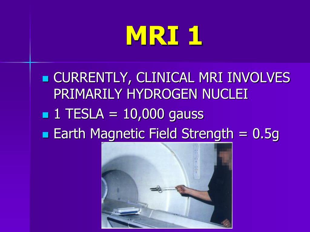 MRI 1