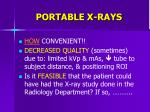 portable x rays