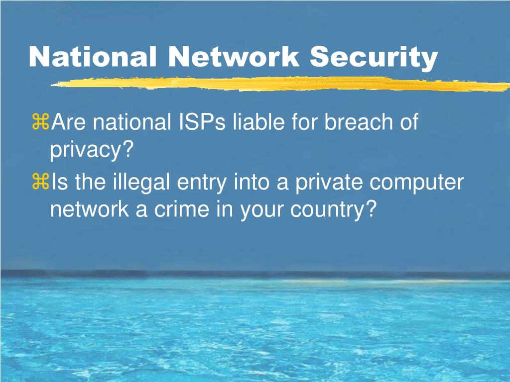 National Network Security