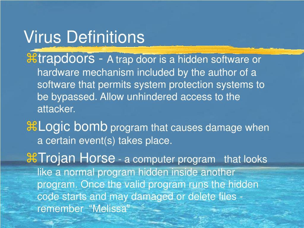 Virus Definitions