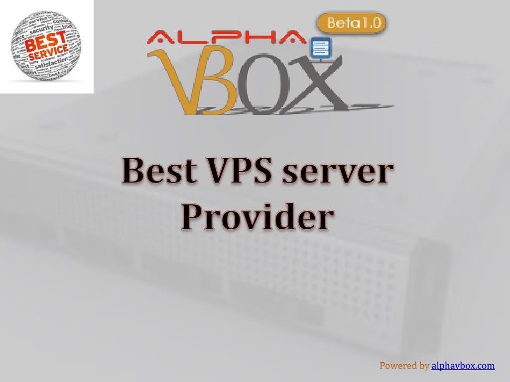 Best VPS server Provider