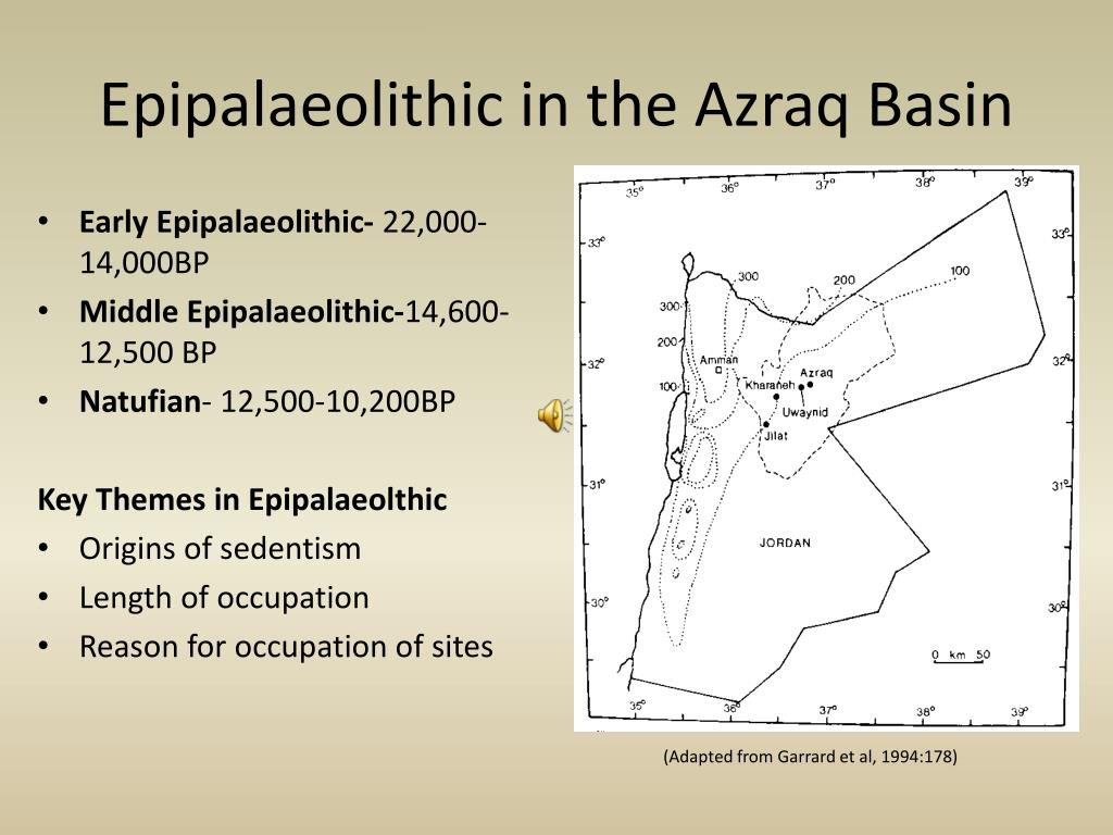Epipalaeolithic in the Azraq Basin