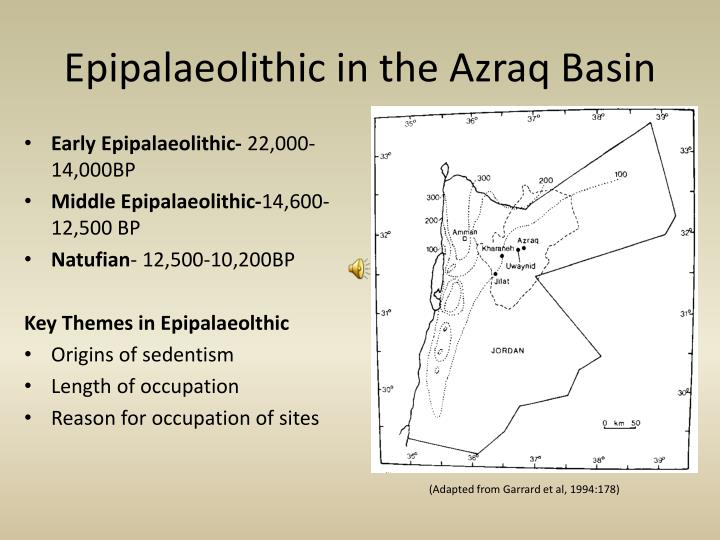 Epipalaeolithic in the azraq basin l.jpg