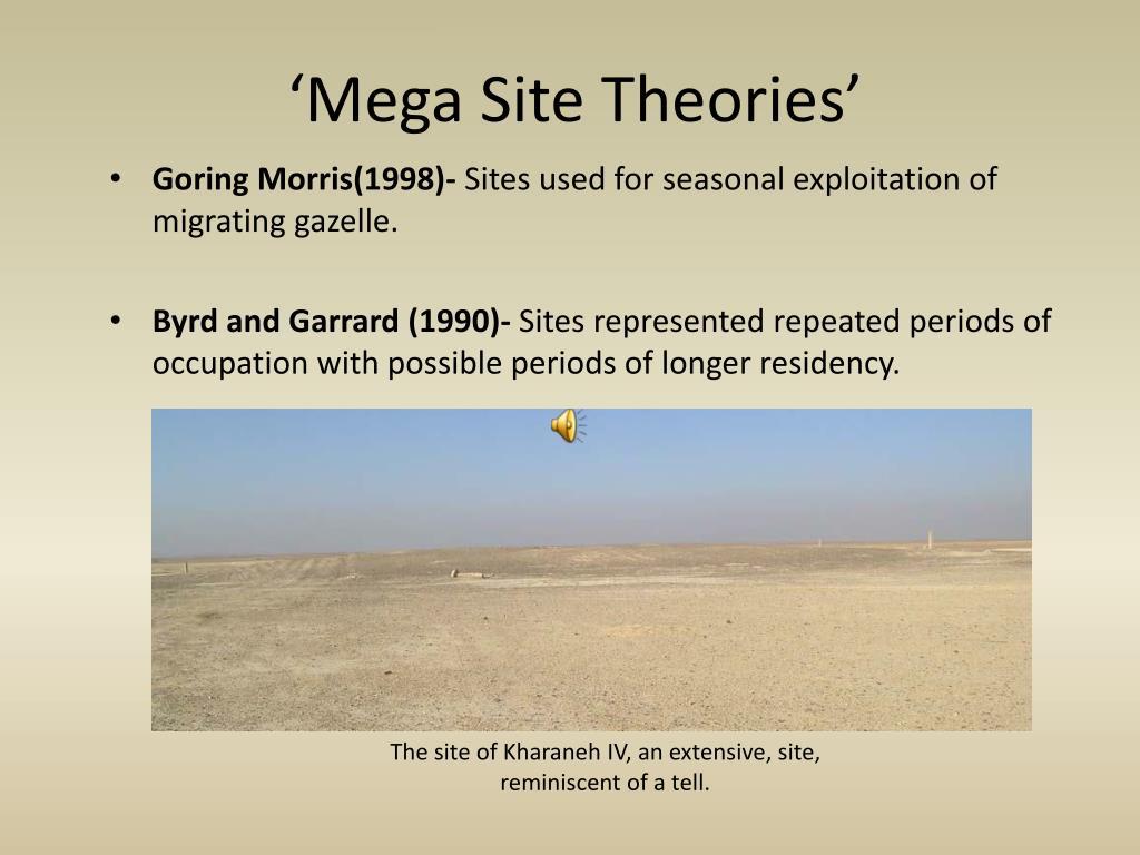 'Mega Site Theories'