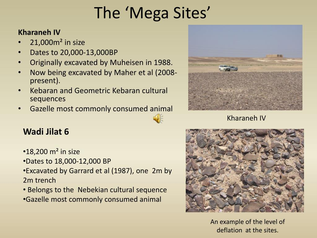 The 'Mega Sites'
