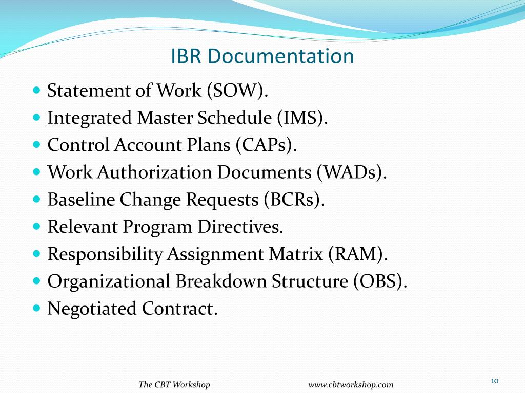 IBR Documentation