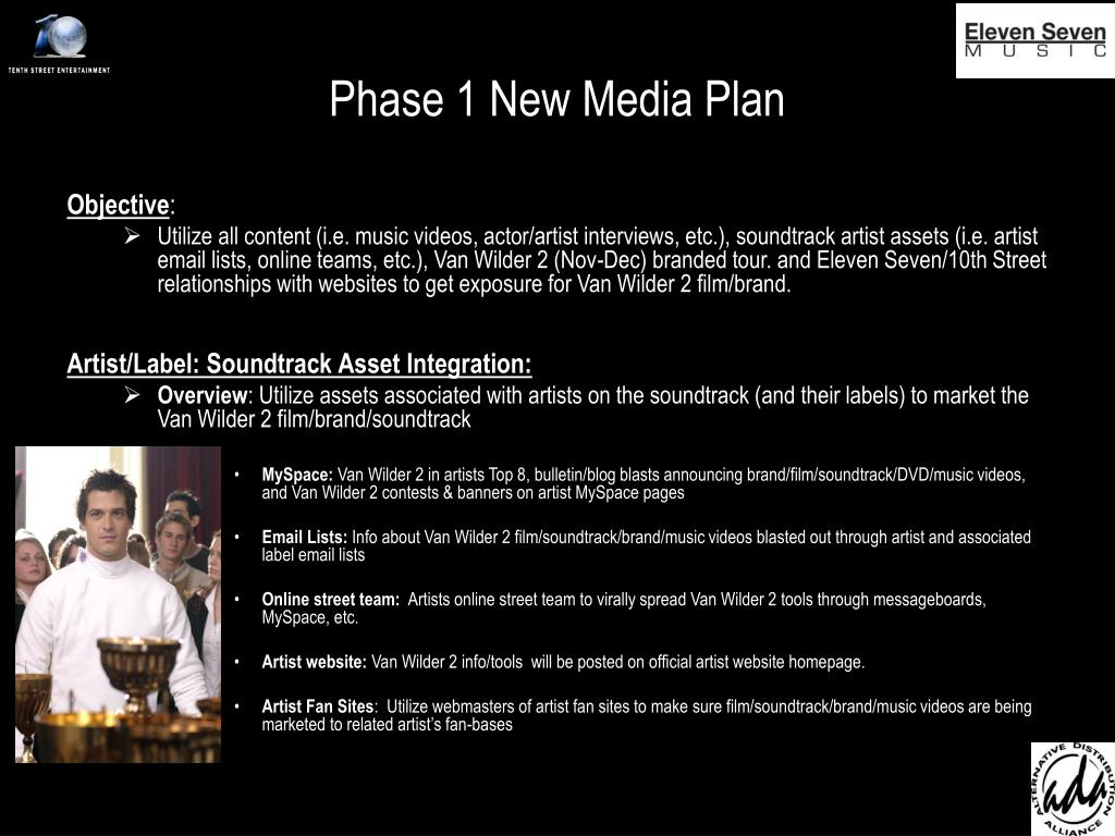 Phase 1 New Media Plan
