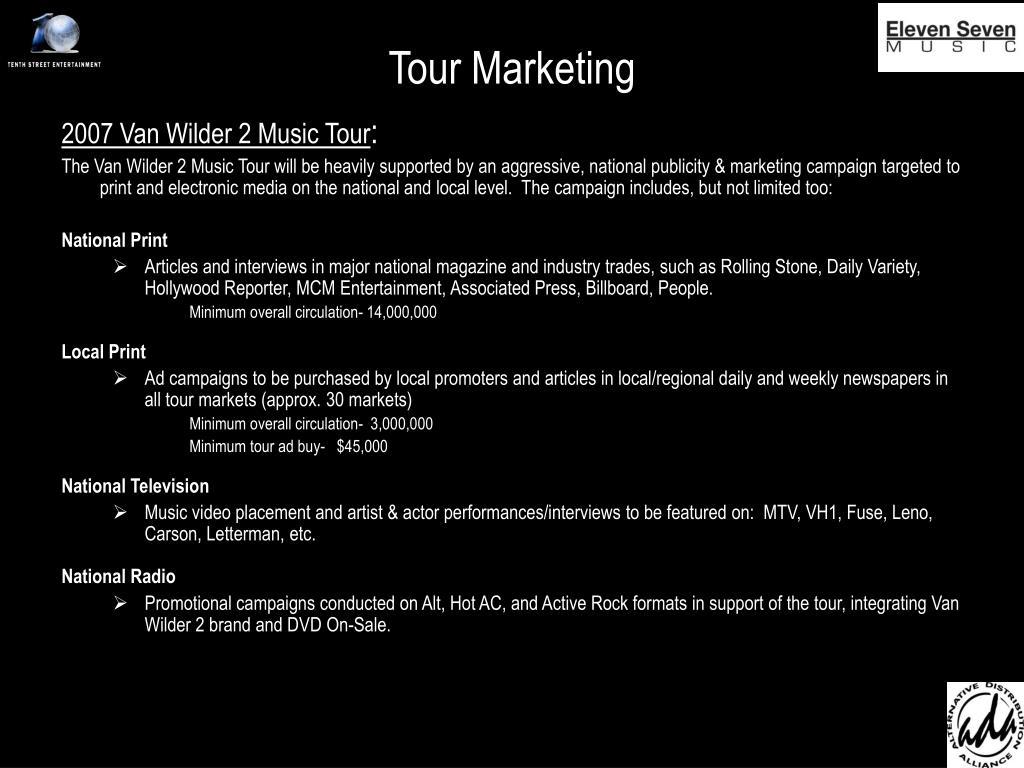 Tour Marketing