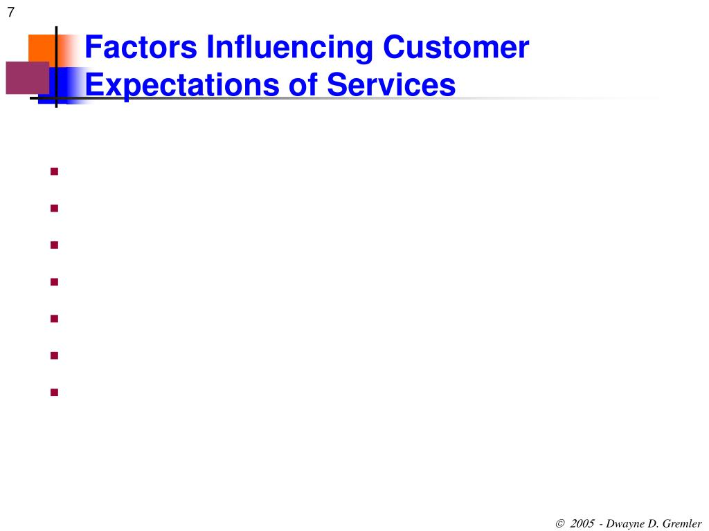 what are the factors influencing customers Consider what your customers will think when you make factors influencing decision making in a business [business environmental factors influence.