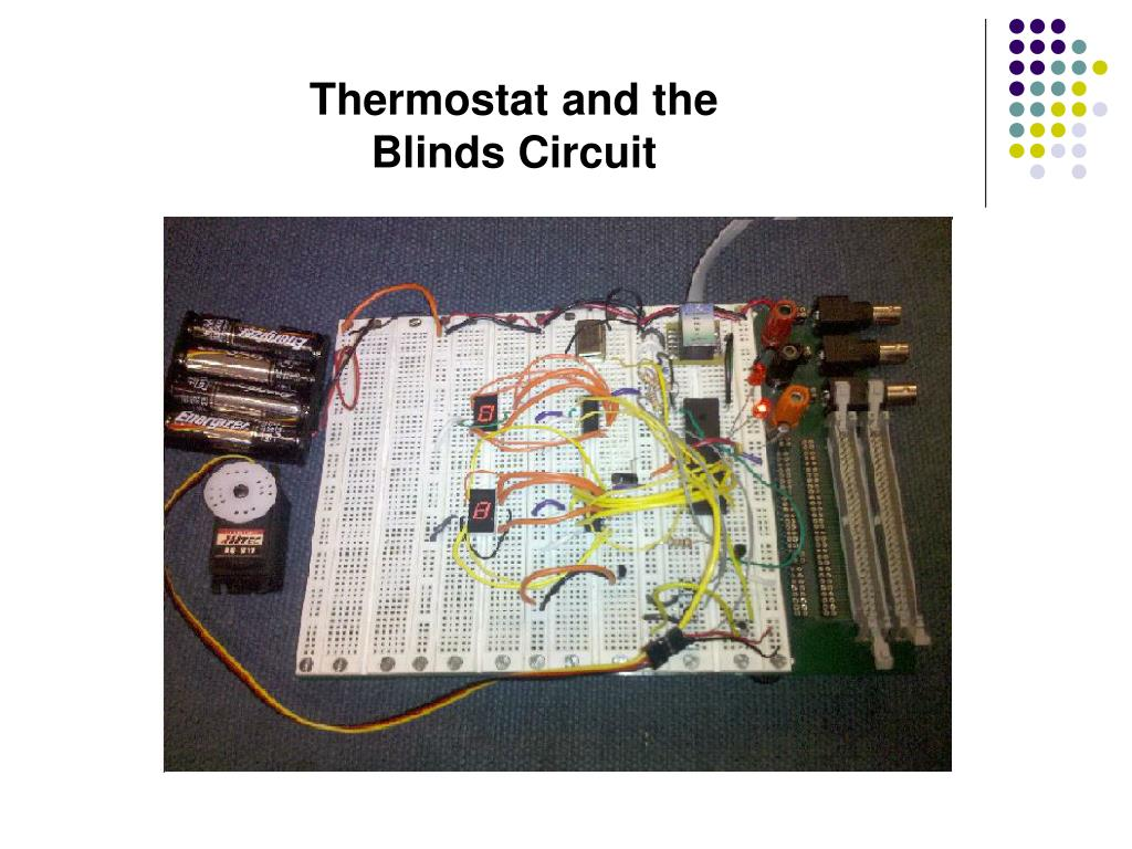 Thermostat and the Blinds Circuit