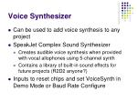 voice synthesizer29