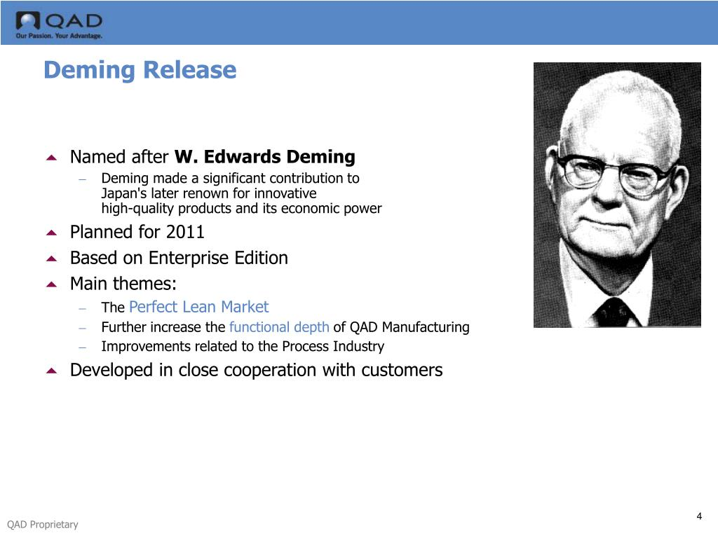 Deming Release