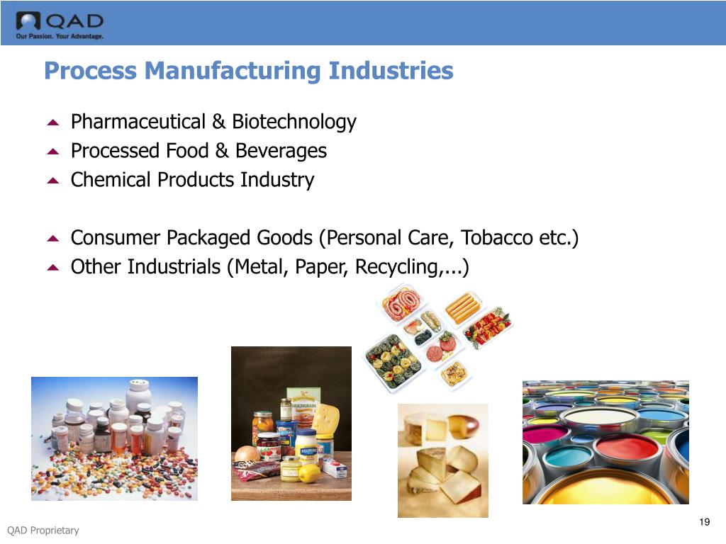 Process Manufacturing Industries