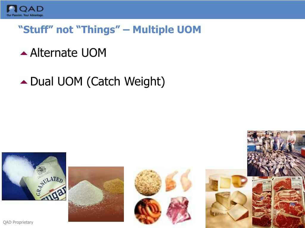 """Stuff"" not ""Things"" – Multiple UOM"
