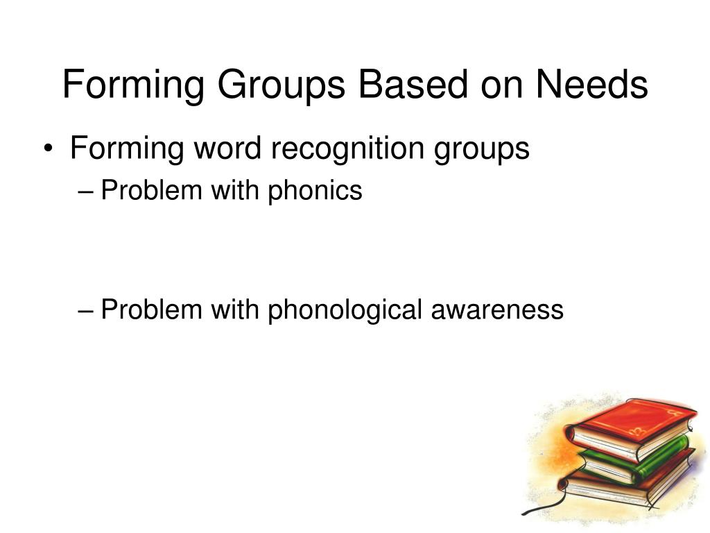 Forming Groups Based on Needs