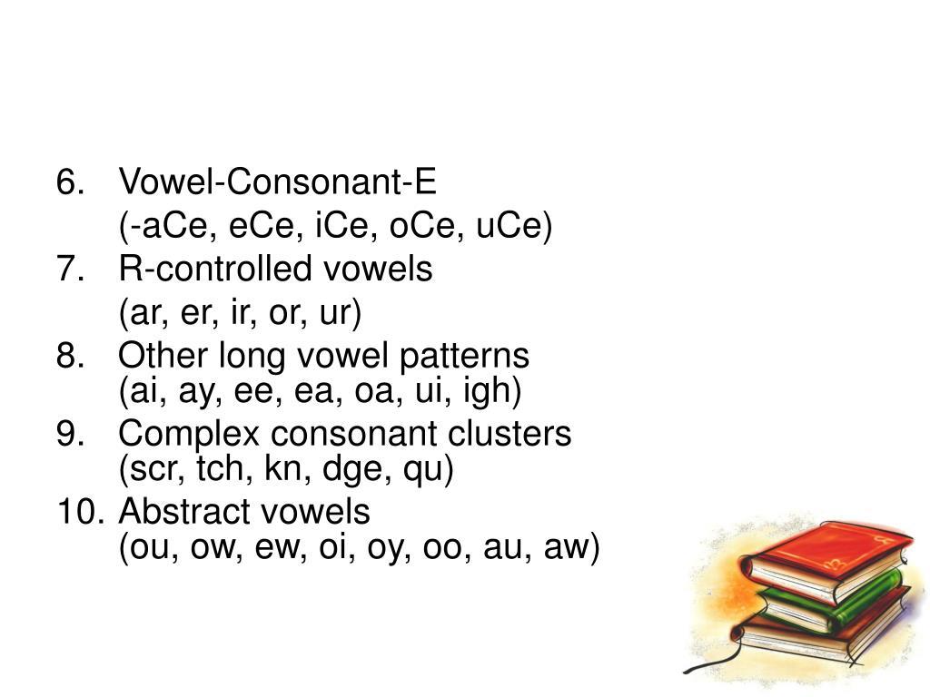 Vowel-Consonant-E