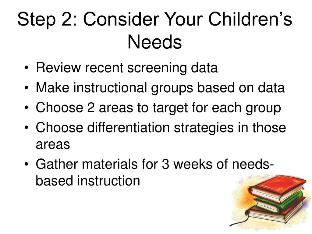 Step 2: Consider Your Children's Needs