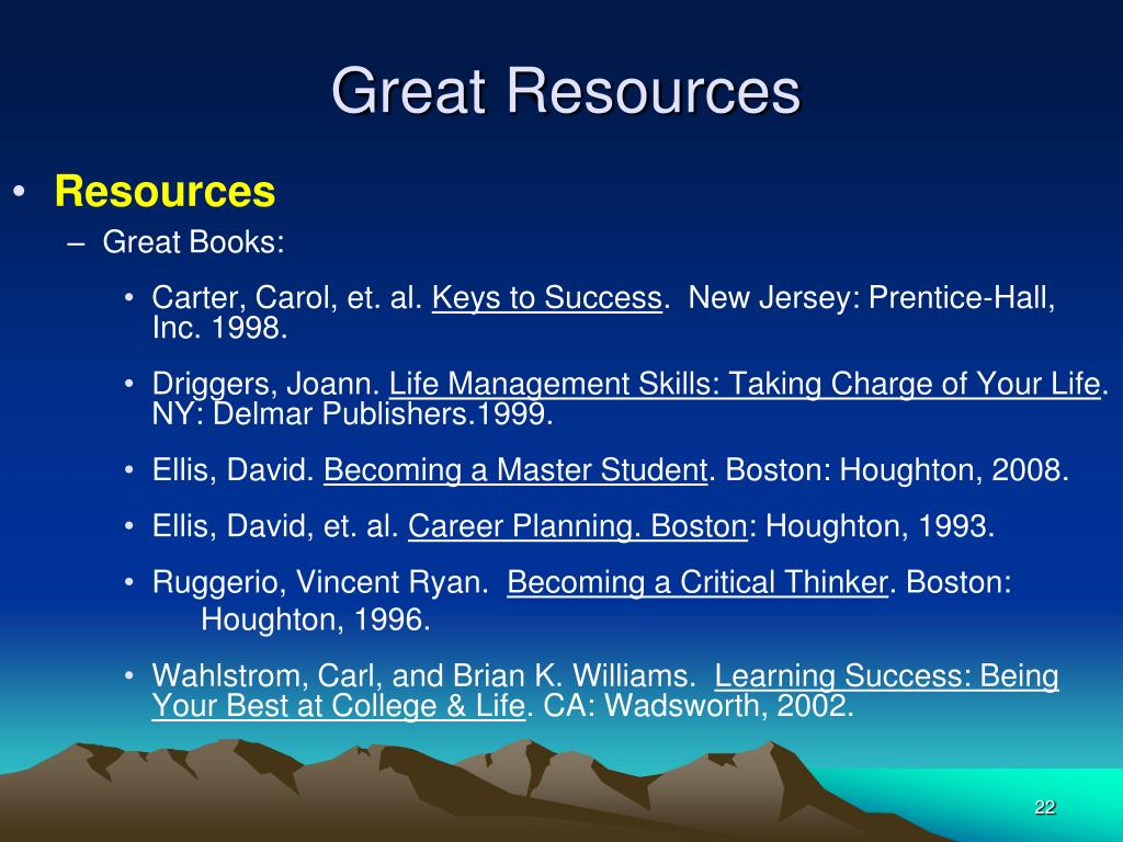 Great Resources
