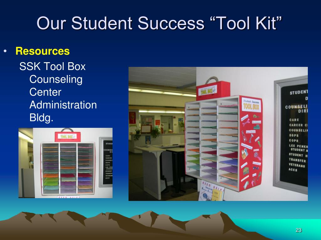 "Our Student Success ""Tool Kit"""