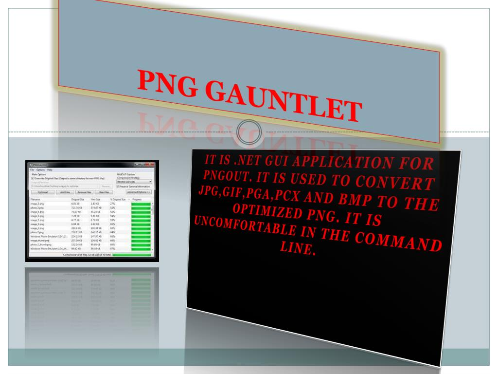 PNG GAUNTLET
