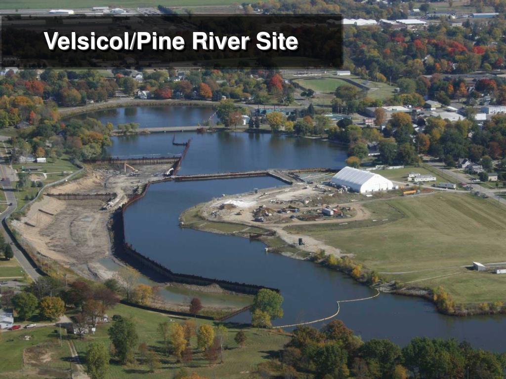 Velsicol/Pine River Site