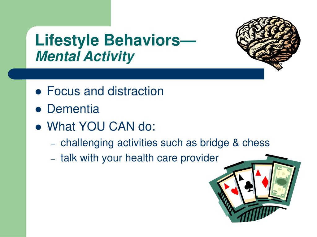 Lifestyle Behaviors—