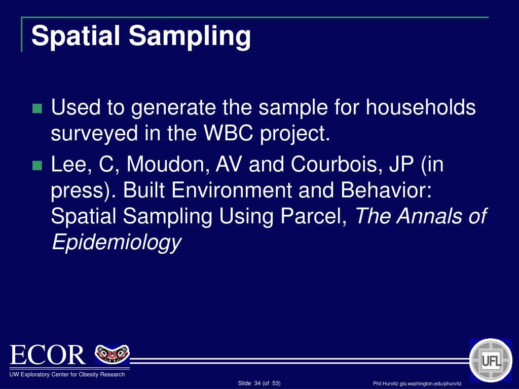 Spatial Sampling
