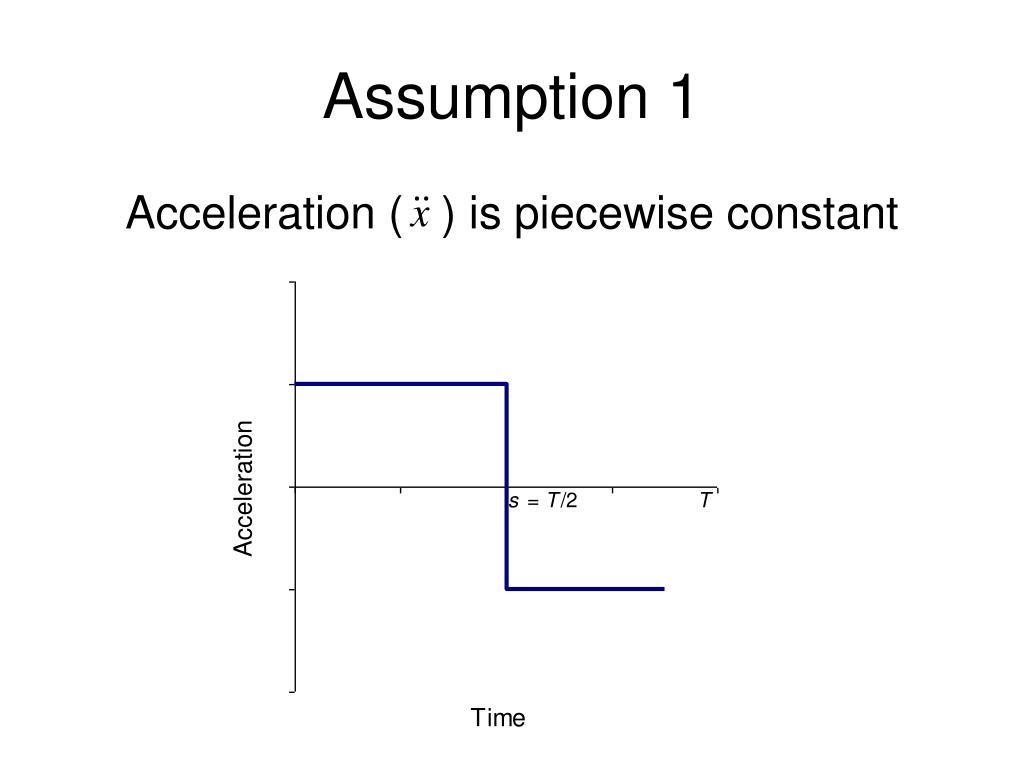Assumption 1