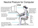 neutral posture for computer use