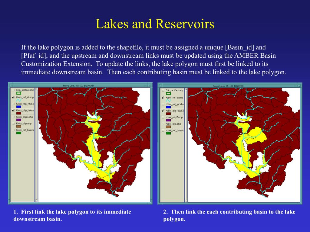 Lakes and Reservoirs